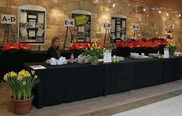 Conference Registration Booth